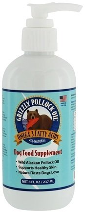 Wild Alaskan Pollock Oil- Grizzly Pet Products