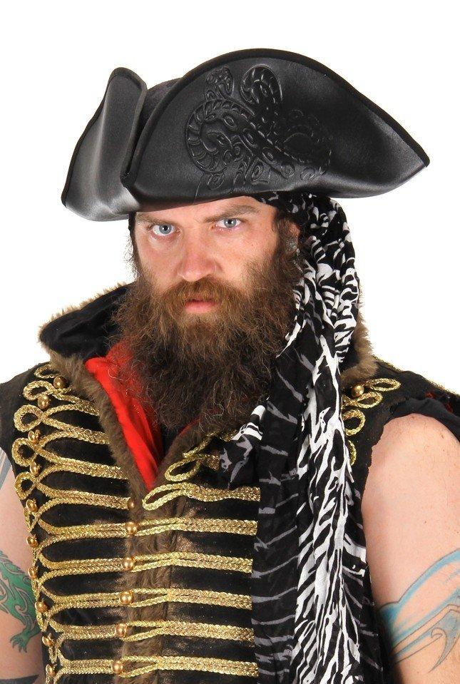 Embossed Black Pirate