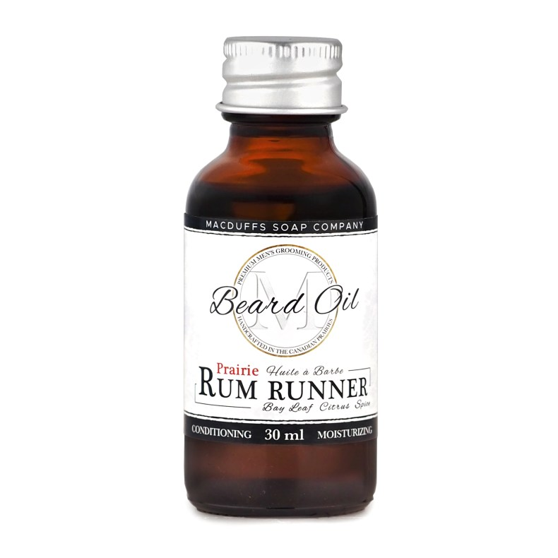 Prairie Rum Runner Beard Oil MGP-RUMOIL
