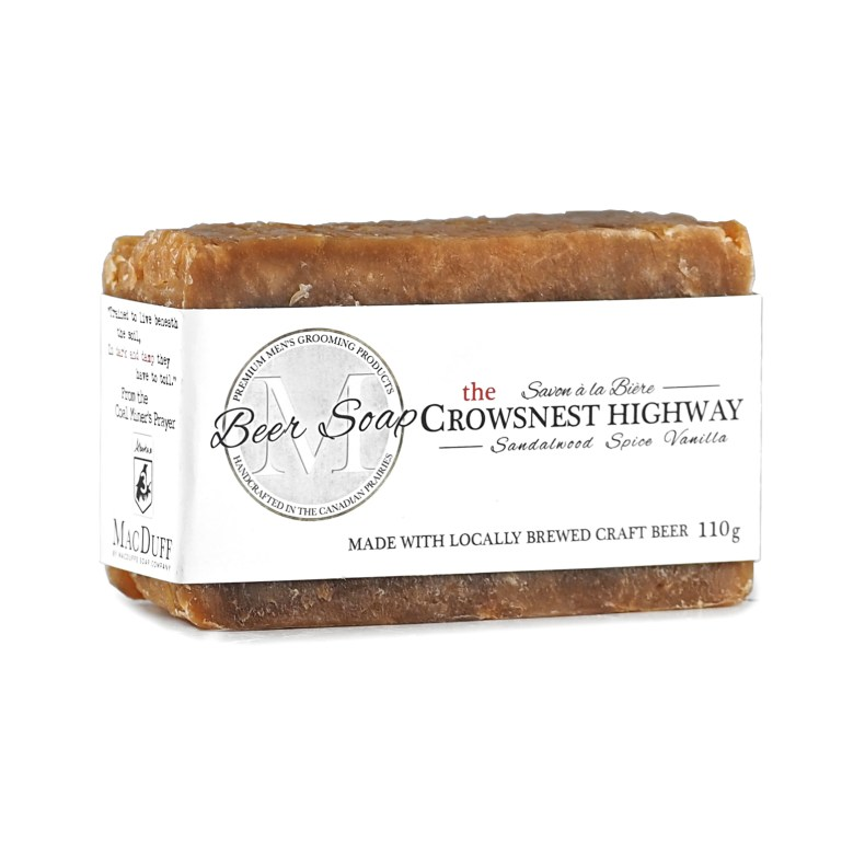 Crowsnest Pass Beer Soap MGP-CROWSOAP