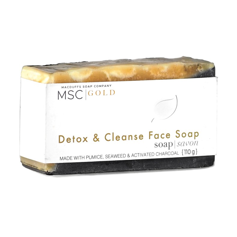 Detox and Cleanse Facial Bar SOAP-DETOX