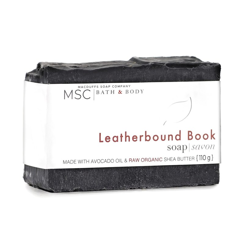 Leatherbound Book Soap Bar SOAP-OLDBOOKS