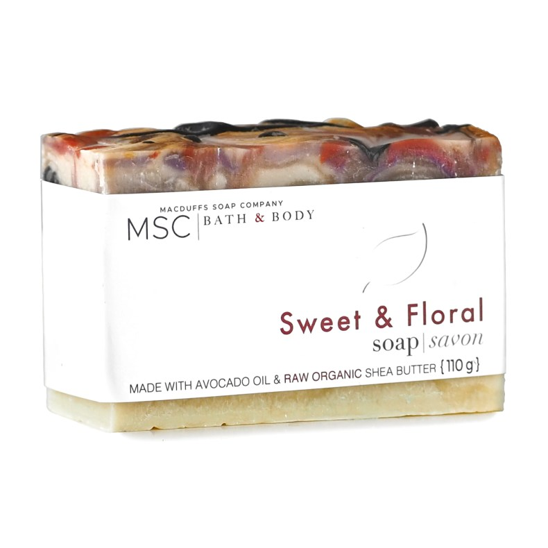 Sweet & Floral Soap Bar SOAP-SWEETFLORAL