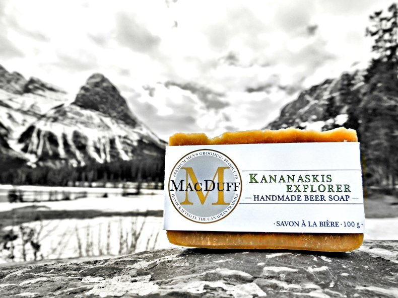 Kananaskis Explorer Beer Soap