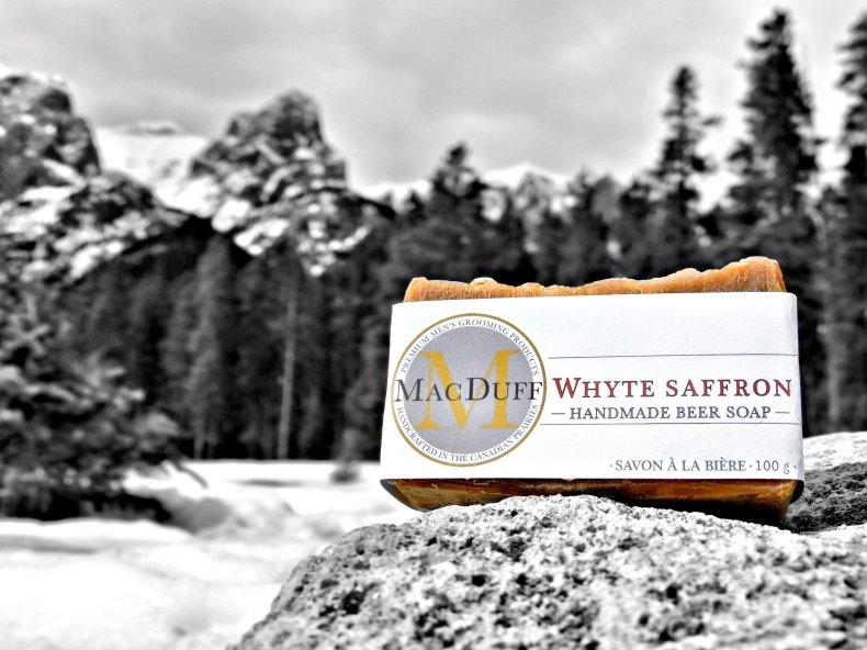 Whyte Saffron Beer Soap