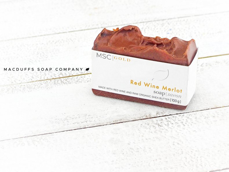 Red Wine Merlot Bar Soap