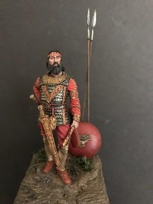 Scythian King 400 BC by Mike Butler