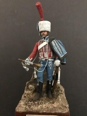 Trumpeter 1st Regt of Hussars, Elite Co 1806