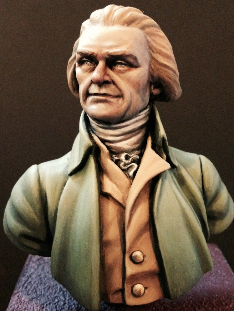 APG 18 Thomas Jefferson unpainted bust