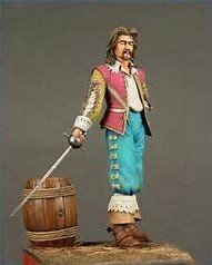Musketeer painted by Marion Ball