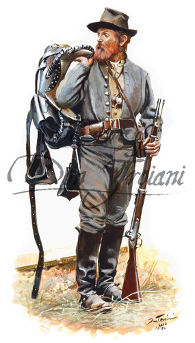Troiani North Carolina Cavalryman