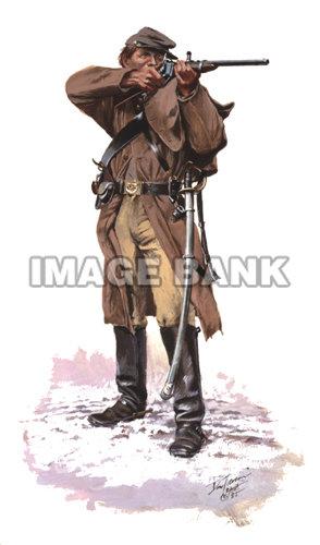 Troiani CS Cavalryman