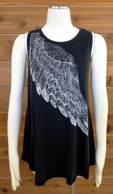 Vocal Angel Wing Tunic