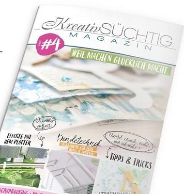 Kreatvsüchtig - das Magazin #4