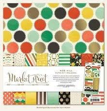 Market Street Nob Hill 12x12 Paper Pack