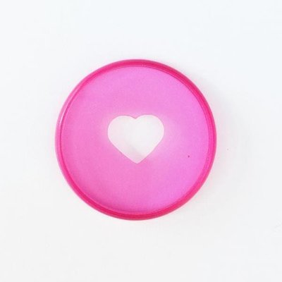 Medium Discs - Translucent Pink