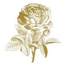 Go Press And Foil metal stamp die Classic Rose