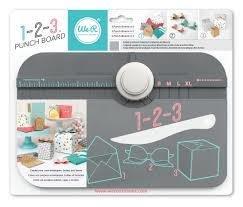 WeR 1-2-3 Punch Board