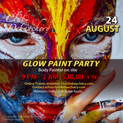 GLOW PAINT PARTY