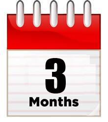 Single Store/Location: 3 Month Membership