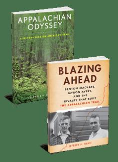 2 Book Bundle  - Appalachian Odyssey & Blazing Ahead 00002