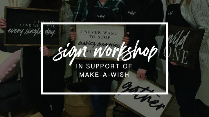 Sign Party - May 16 - In support of Make-A-Wish® - The Berkshire Club 00298