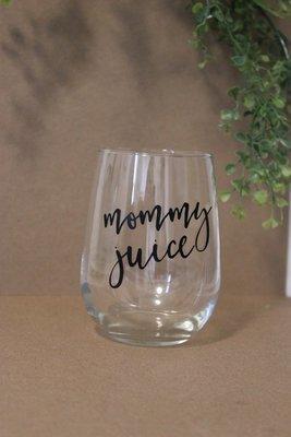 Wine Glass - Mommy Juice