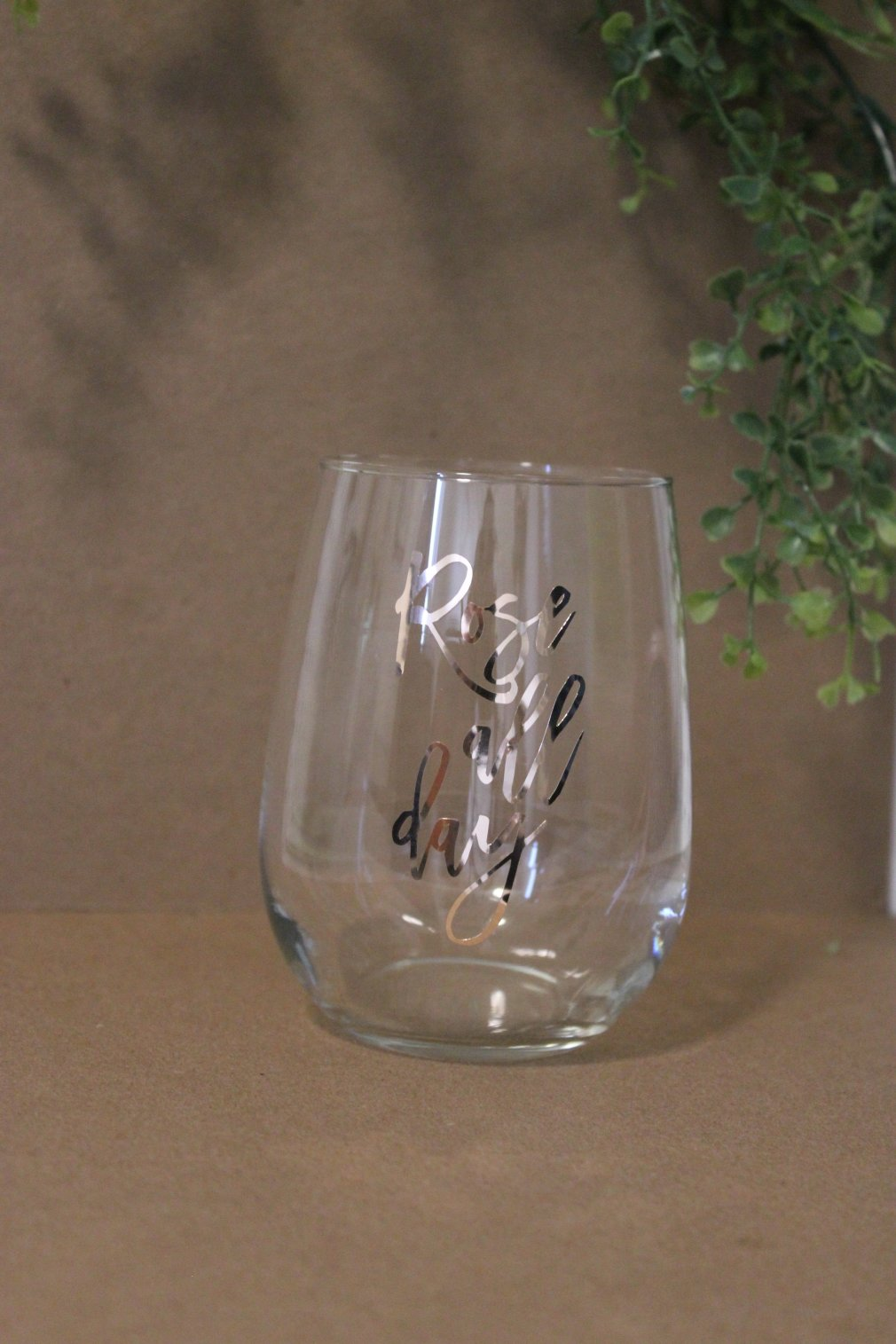 Wine Glass - Rose All Day - Rose Gold 00143
