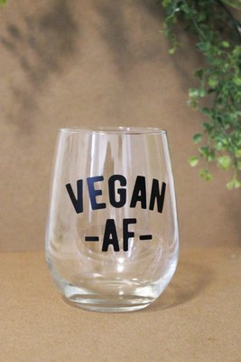 Wine Glass - Vegan AF