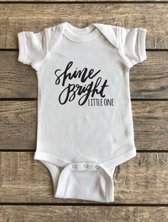 Shine Bright Little One | Baby Onesie 00185
