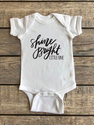 Shine Bright Little One | Baby Onesie
