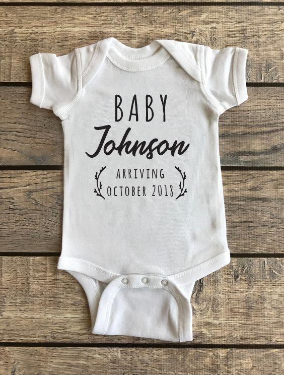 Baby Announcement | Baby Onesie 00198