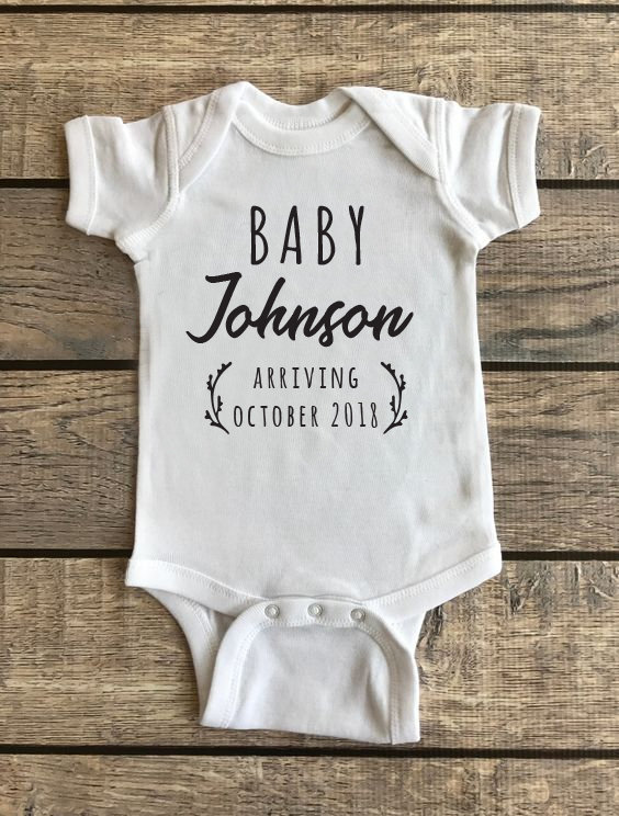 Baby Announcement | Baby Onesie