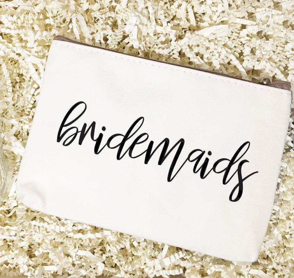Bridal Party Titles | Make Up Bag