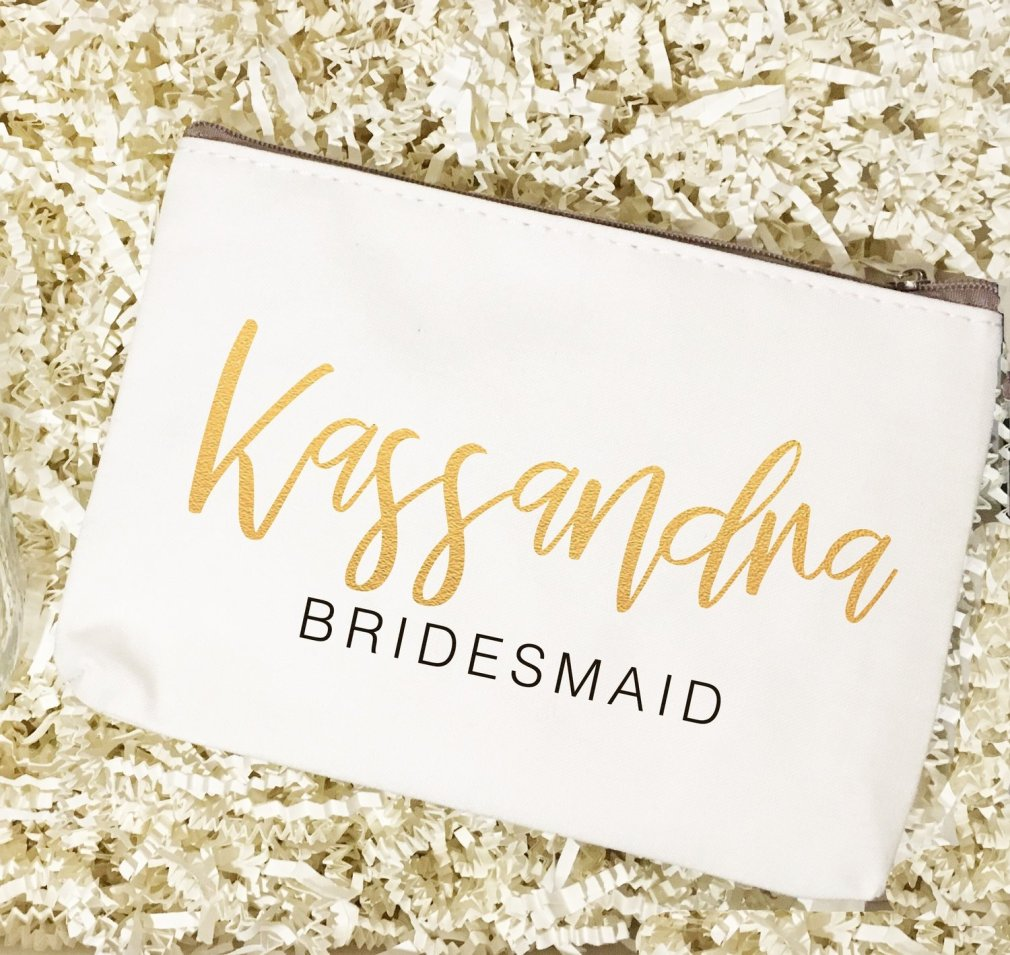 Bridal Party | Make Up Bag