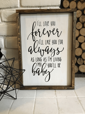 """My Baby You'll Be"" Script 