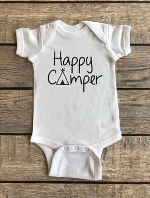 Happy Camper | Baby Onesie