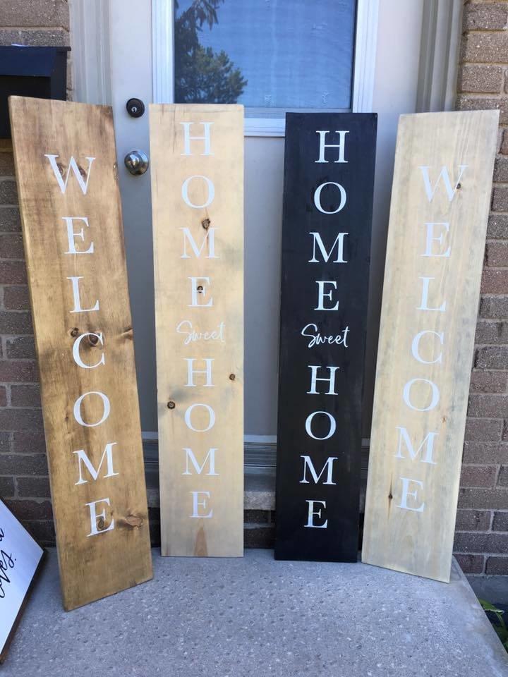 Welcome Home & Home Sweet Home