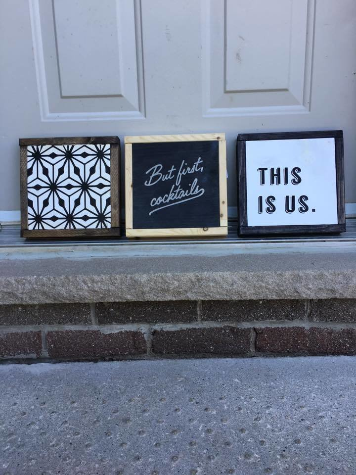 7x7 Minis | Wood Signs 00276