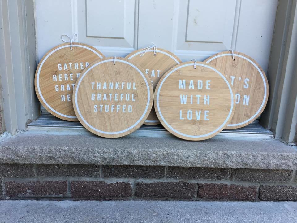 Faux Cutting Boards | Wood Signs 00284