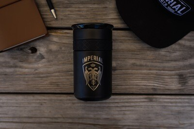 Elemental 12 Oz Coffee Tumbler - BLACK