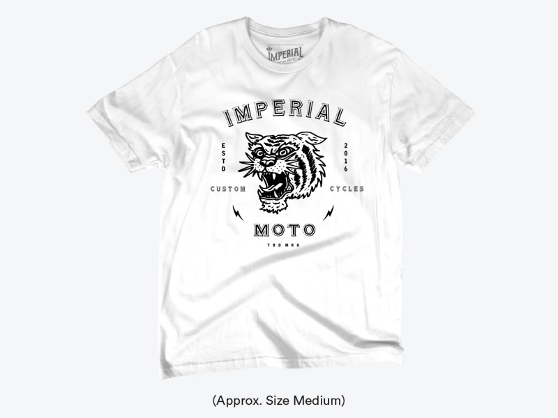 NEW - Imperial Tiger By Nicolas Brizio @nicolasbrizio