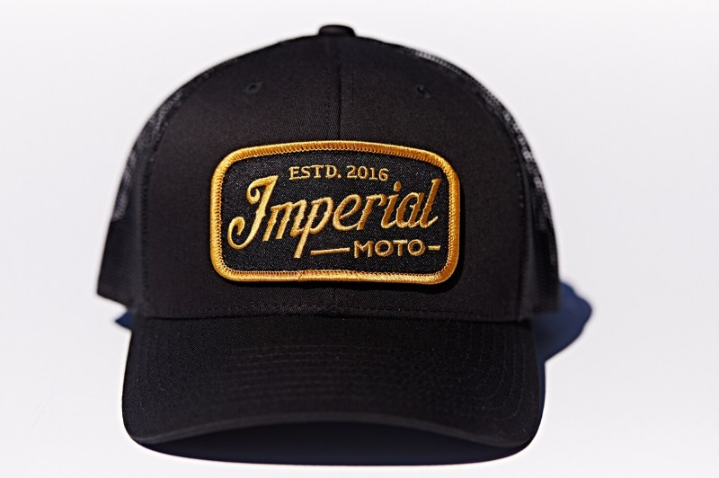 BACK IN! Imperial Moto Trucker - Black