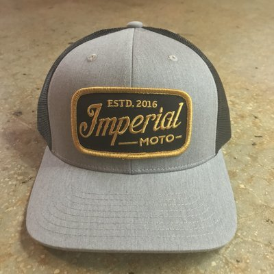 Imperial Moto Trucker - Heather Grey/Black