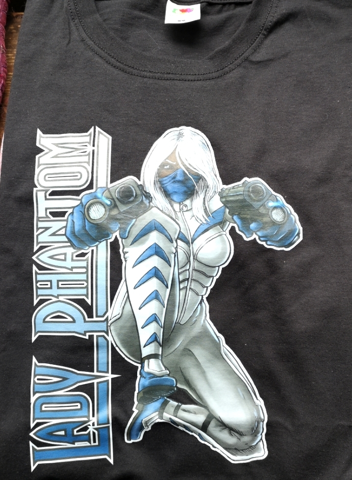 T-shirt, Lady Phantom Black CL4101