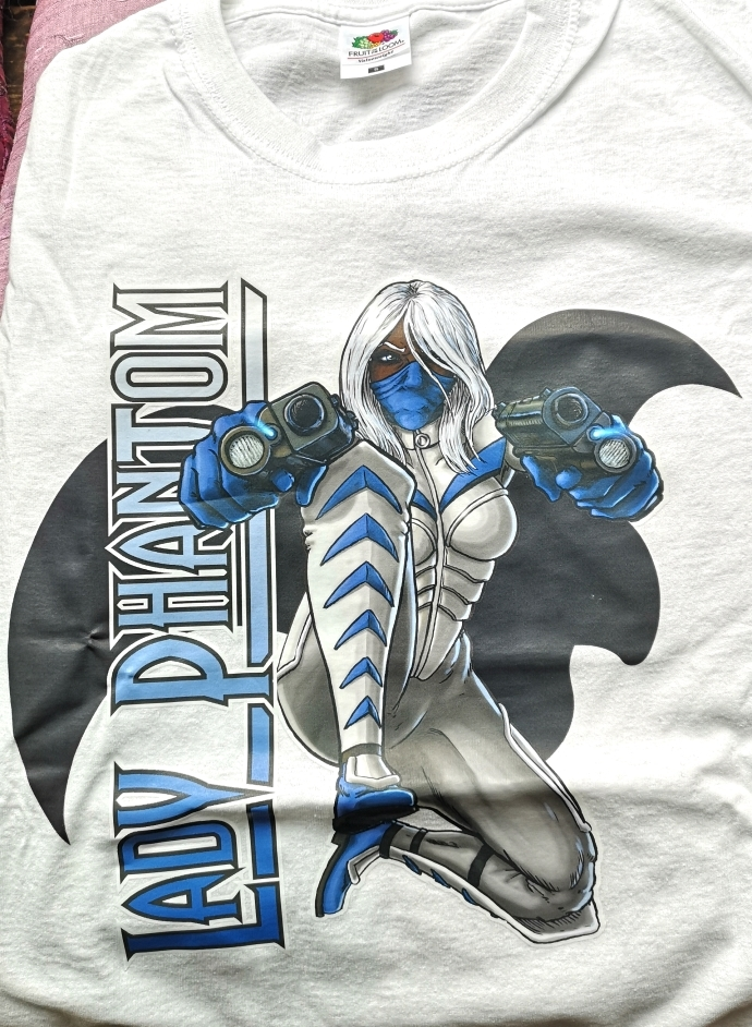 T-shirt, Lady Phantom White CL4102