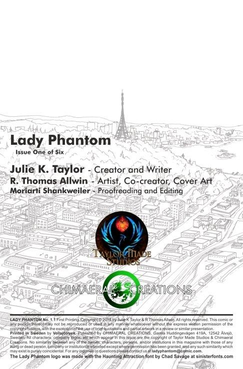 Lady Phantom #1
