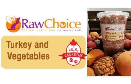 RawChoice Turkey and Vegetables (2LB) 0006
