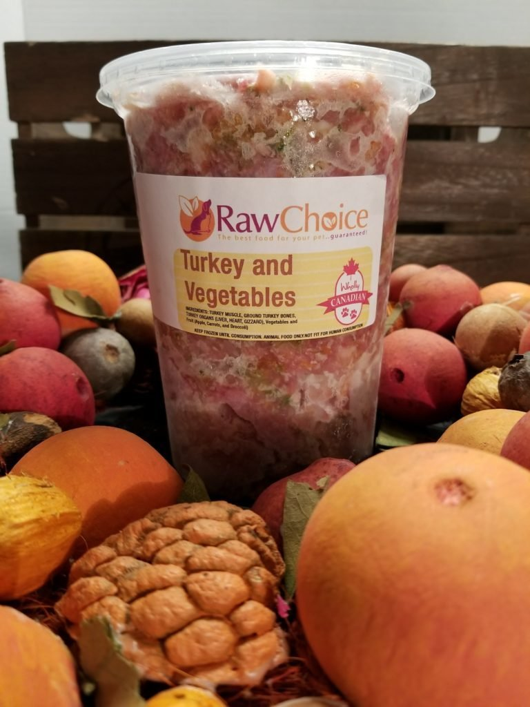 RawChoice Turkey and Vegetables (2LB)