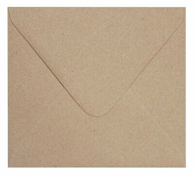 Sobre rectangular 20x18 cm KRAFT 150g
